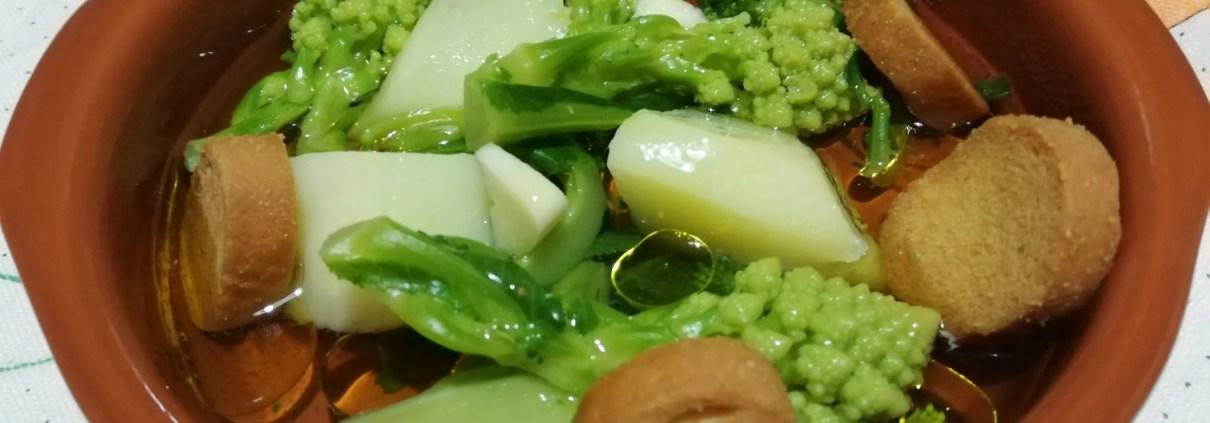 Zuppa di verdure fresche