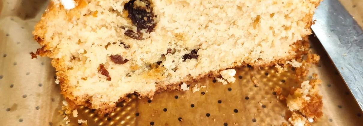 Plumcake del buongiorno senza glutine e senza lattosio