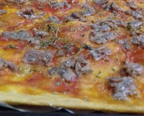 Pizza senza lievito di Rita