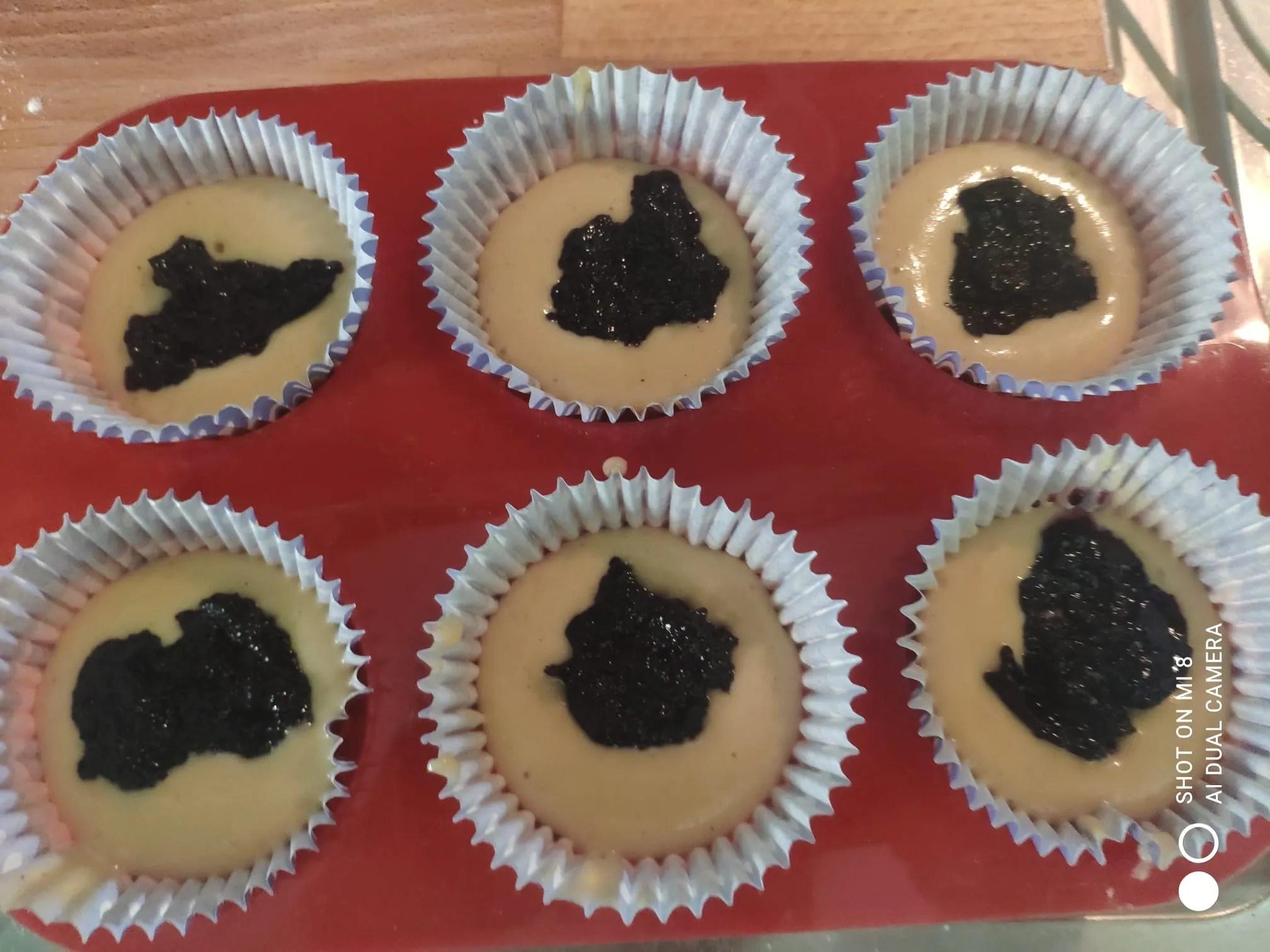 i muffin da cuocere dentro i pirottini