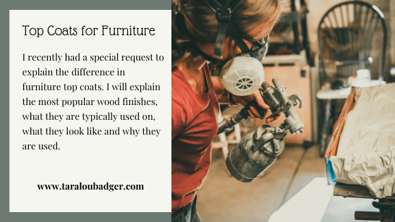 Top Coats for Furniture