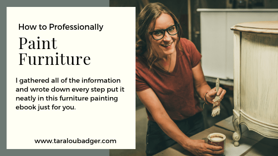 Furniture Painting eBook!