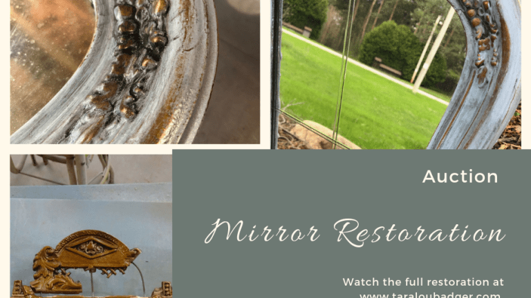 Vintage Mirror Gets Revived