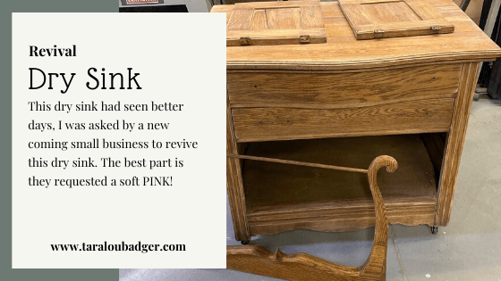 Dry Sink Revival