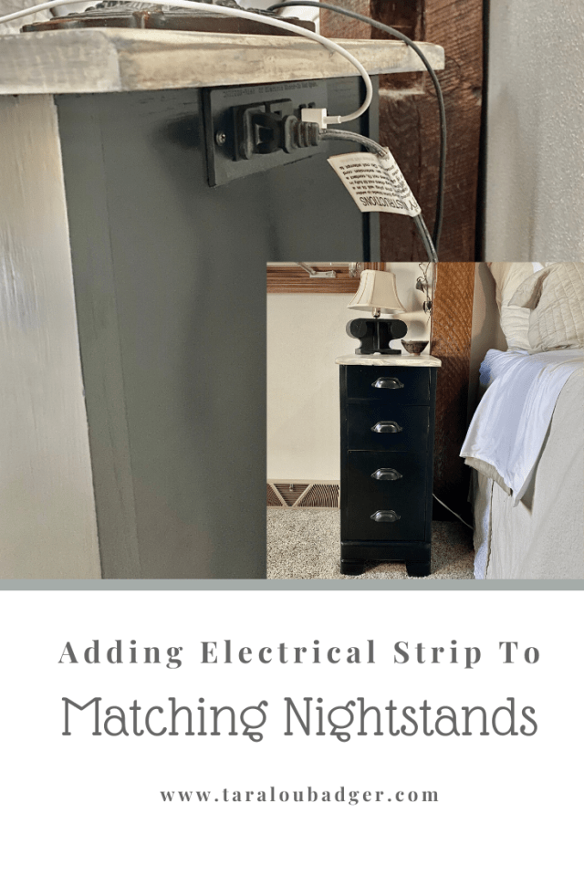 electrical cords for nightstand