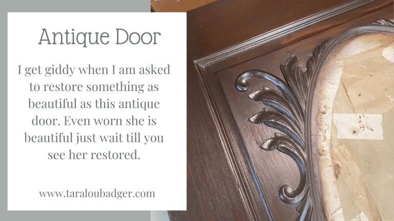 Antique Door Restoration