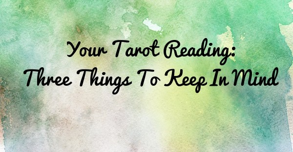 Your Tarot Reading - Tara Nikita