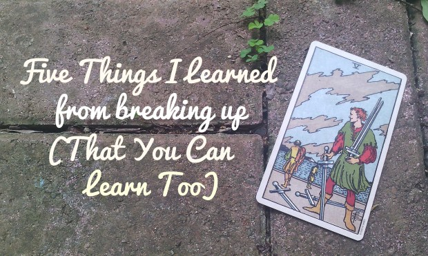 5 Things I Learned from Breaking Up - Tara Nikita