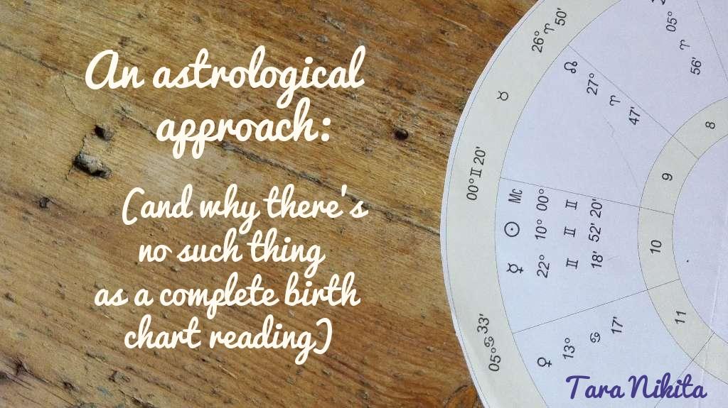 An Astrological Approach Tara Nikita