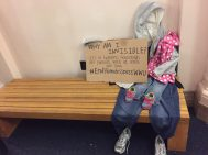Invisible Homeless Campaign (Mother and Child)