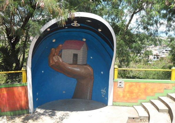 JADE street art Peru