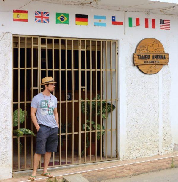 Tambo Andina, a cheap hostel in Tarapoto, Peru