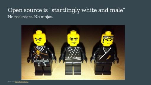 3 Lego ninja figurines