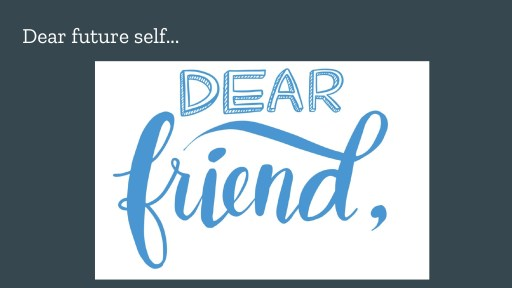 postcard: Dear friend,