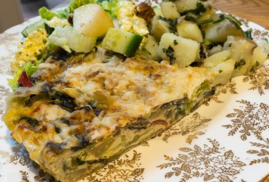 """Fridge Raid"" Frittata"
