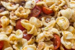 Orecchiette with sardines and tomato