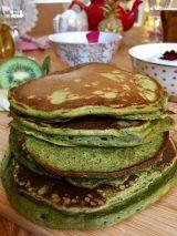 OMG Tea Matcha Pancakes