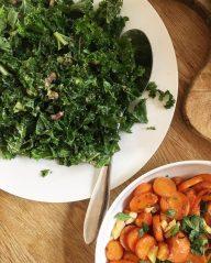 """Merry Chia-mas"" Kale Salad"
