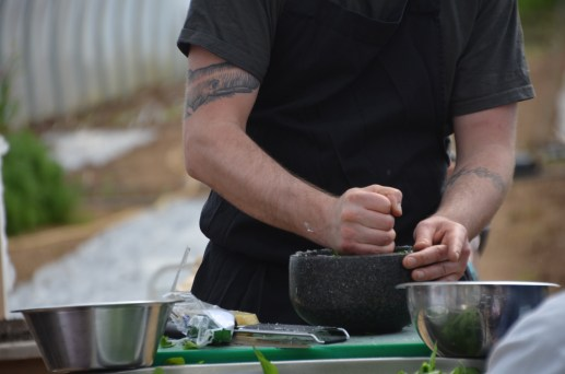 Riverford Field Kitchen - Spring Cookery Demonstration