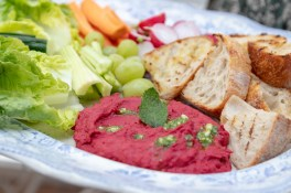 Beetroot Dip with Mint