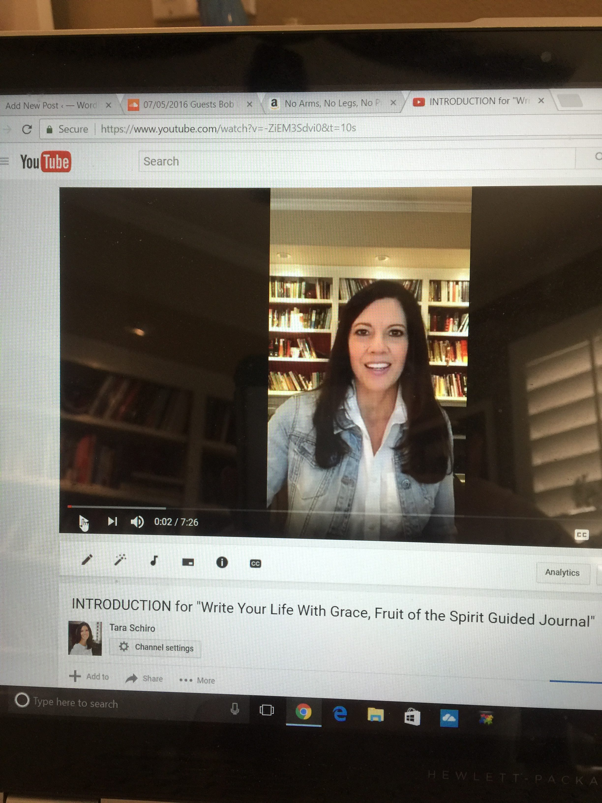 "Video Introduction for ""Write Your Life With Grace, Fruit of the Spirit Guided Journal"" by Tara Schiro"