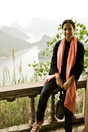 Halong Bay portrait