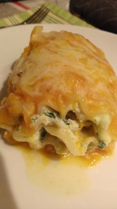 spinach and squash lasagna