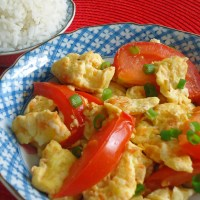 Xihongshi Chao Jidan (Chinese Stir-fried Tomato and Eggs)