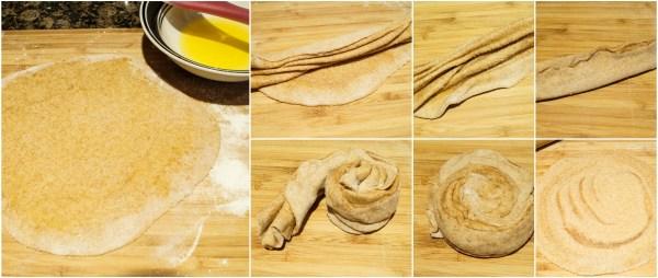 cinnamon paratha