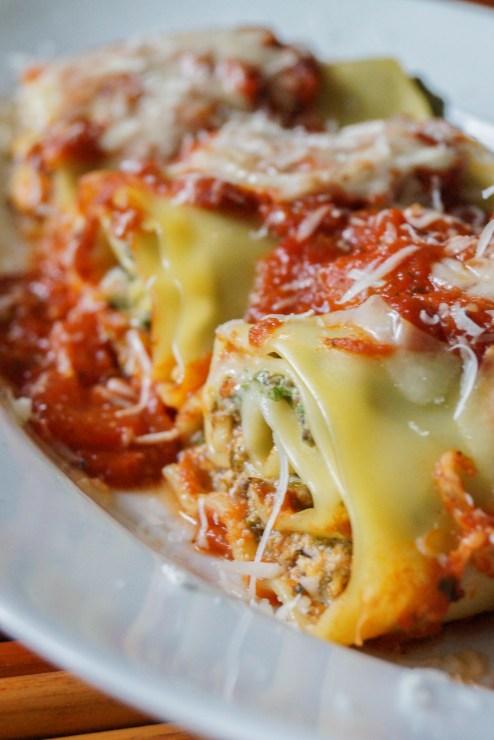 mushroom kale lasagna rolls (3 of 3)