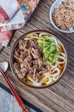 Niku Udon (Japanese Meat Udon)