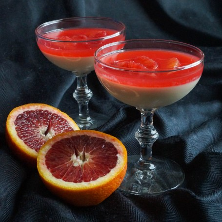 Panna Cotta with Blood Oranges (1 of 3)