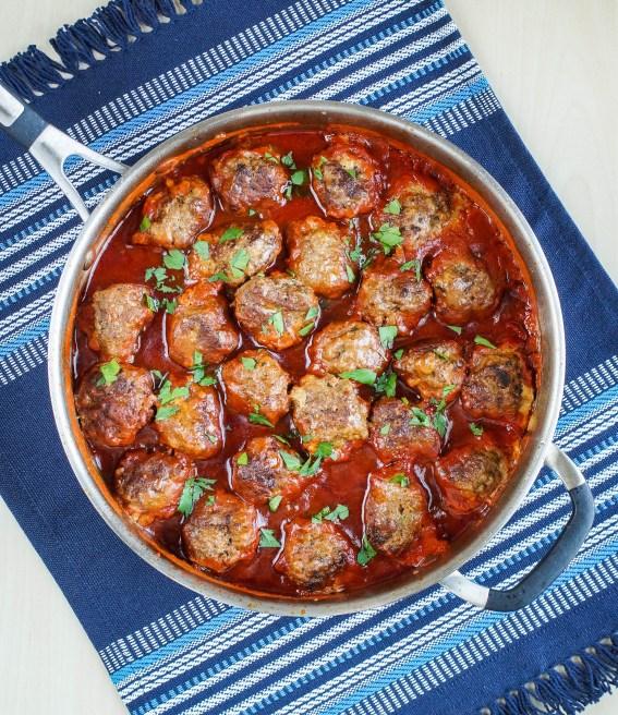 Albondigas al Buyor (Greek-Jewish Meatballs in a Sweet-and-Sour Sauce) (1 of 3)