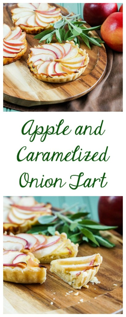 Apple and Caramelized Onion Tart1