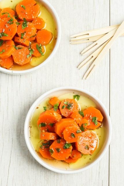 Zanahorias Aliñadas (Spanish Marinated Carrots) (2 of 3)