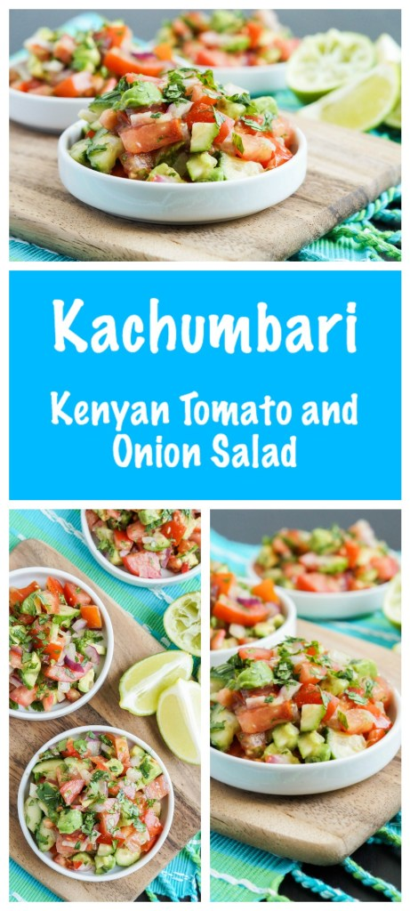 Kachumbari (Kenyan Tomato and Onion Salad)