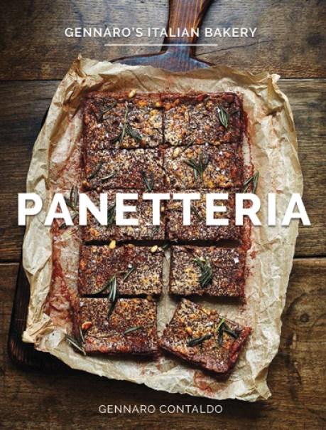 Cookbook cover- Panetteria: Gennaro's Italian Bakery.
