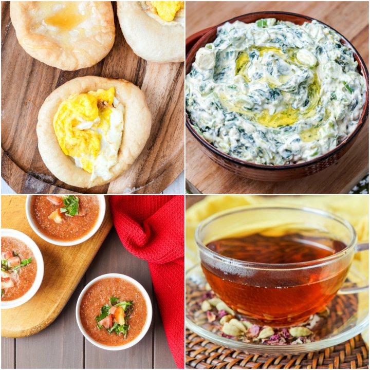 Other recipes from Persepolis: Sfinz (Libyan Breakfast Doughnuts), Borani-ye-Esfanaj (Yogurt with Spiced Spinach), Watermelon Gazpacho, and Persian Rose Tea.