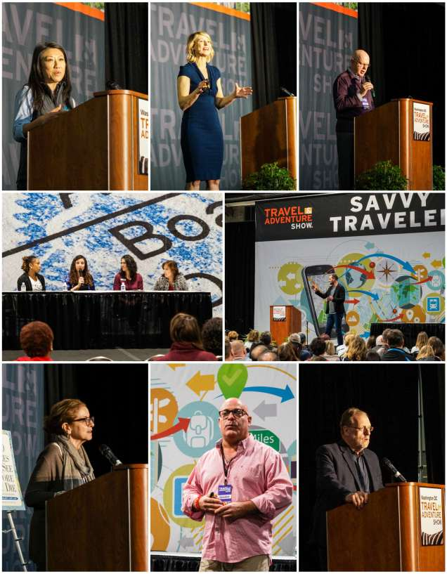 Speakers at the Travel & Adventure Show