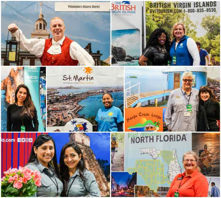 People featuring tourism from Philadelphia, British Virgin Islands, St. Martin, North Florida, and Guatemala.