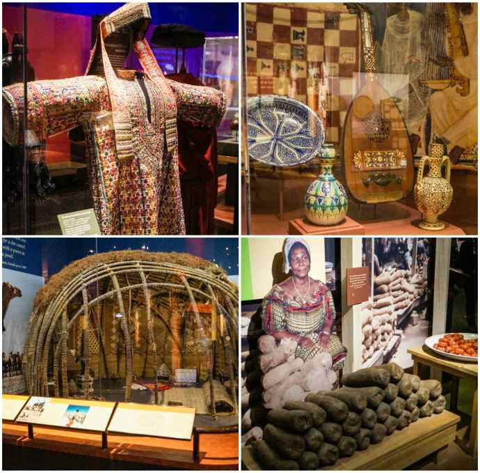 African Voices exhibit at the Smithsonian National Museum of Natural History