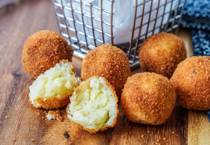 Cuculli Genovesi (Potato and Pine Nut Fritters)