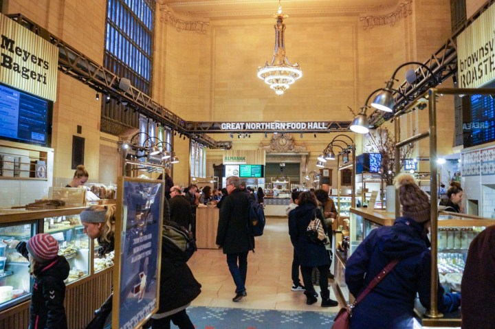 Great Northern Food Hall inside Grand Central Terminal.