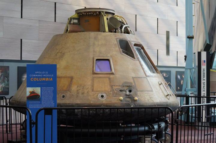 Apollo 11 Command Module Columbia at National Air and Space Museum