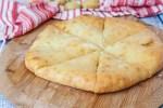 Khabizgina (Ossetian Cheese and Potato Bread)