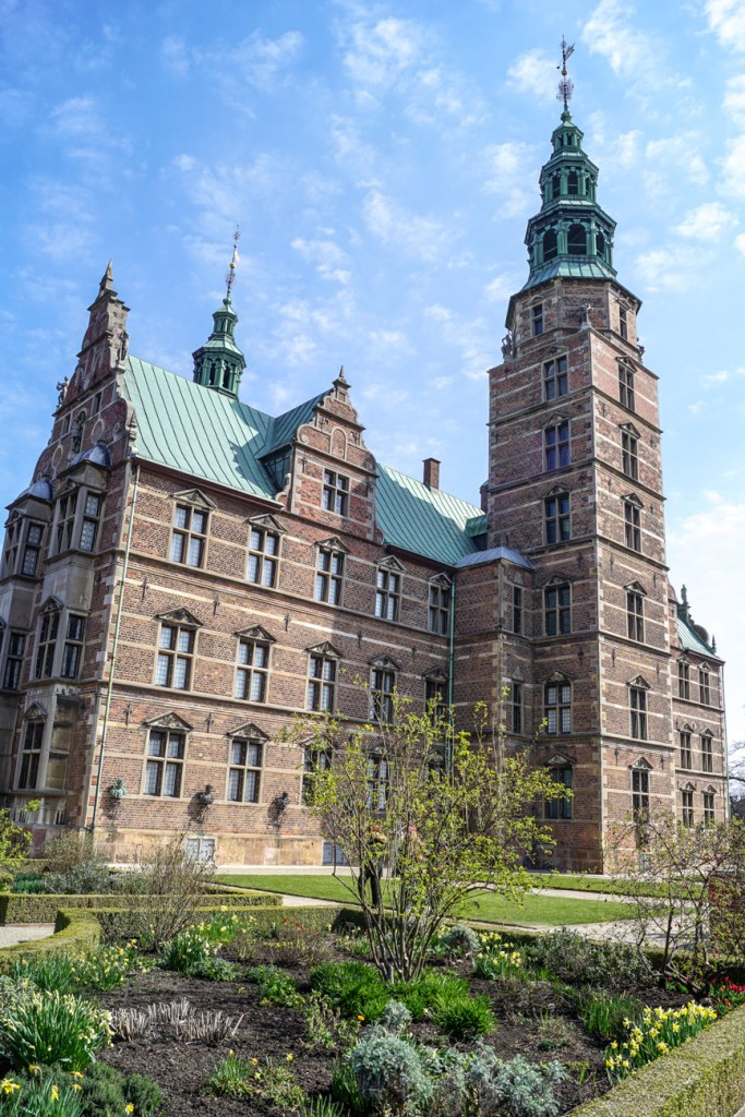 Outside view of Rosenborg