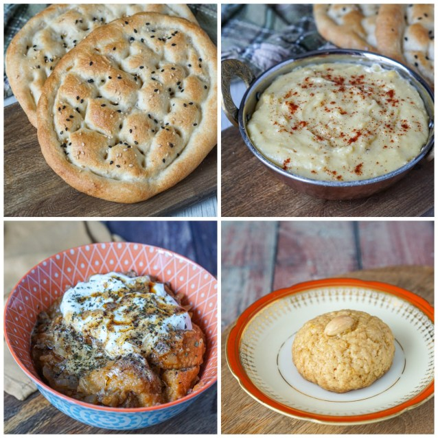 Other dishes from Anatolia: Tirnakli Pide (Finger Pide), Kuymak (Black Sea Fondue), Papara (Grandma's Bread and Beef Stew), and Şekerpare (Semolina Domes).