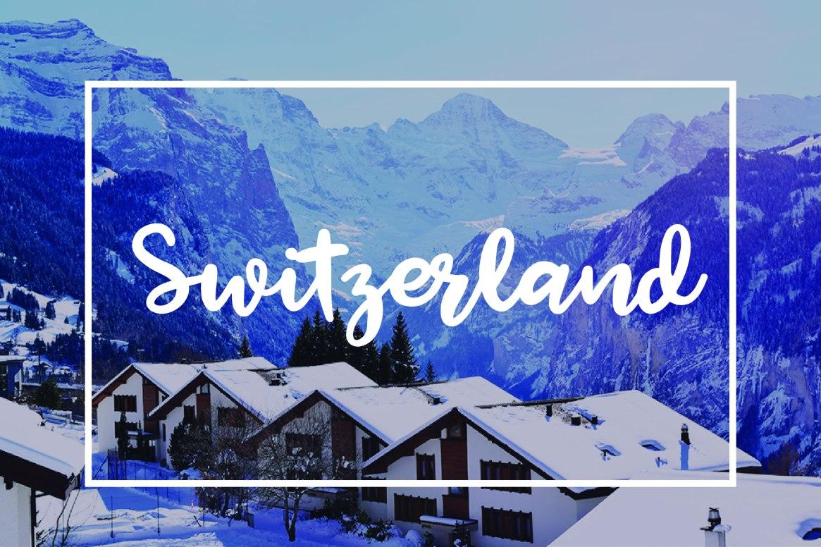 Taras Travels Switzerland
