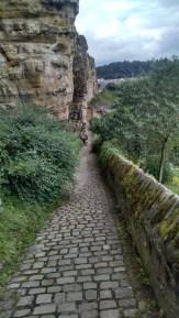 Path along the old city walls