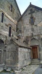 Outside view of Tatev Monastery